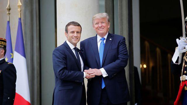 Entretien Macron-Trump à Paris