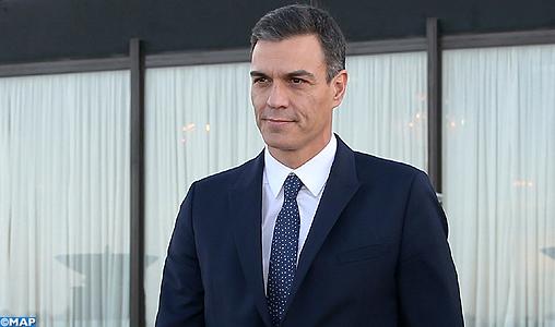 Pedro Sanchez salue le leadership de SM le Roi Mohammed VI en Afrique et en matière de la migration