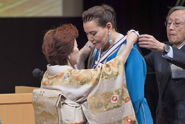 Tokyo: SAR la Princesse Lalla Hasnaa reçoit le prix international GOI Peace 2018
