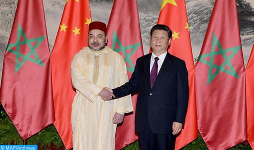 SM le Roi déterminé à renforcer le partenariat stratégique sino-marocain