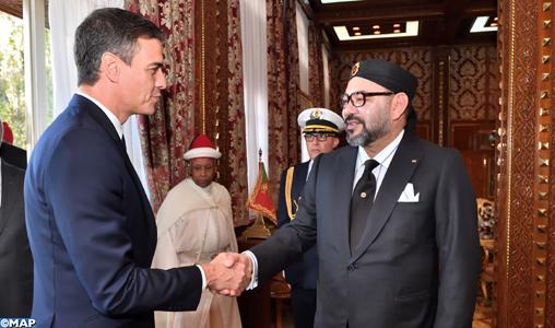 SM le Roi reçoit Pedro Sanchez, Président du Gouvernement Espagnol