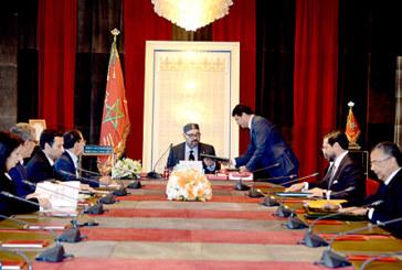 SM le Roi préside une séance de travail consacrée au secteur des énergies renouvelables