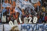 Argentine: des dizaines de milliers de personnes manifestent à Buenos Aires contre le Sommet du G20