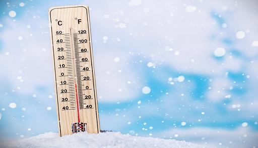 Températures minimales et maximales prévues pour la journée du mardi 06 novembre