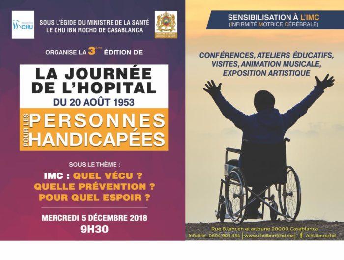 L'Hôpital 20 Août 1953 met les personnes handicapées au cœur de ses priorités et leur ouvre ses portes pour la 3ème fois