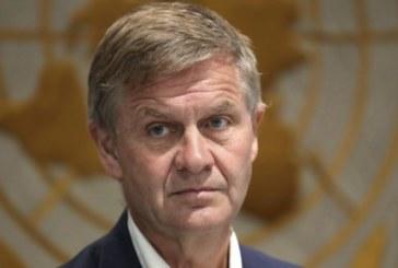 Démission du directeur exécutif du Programme des Nations-Unies pour l'environnement
