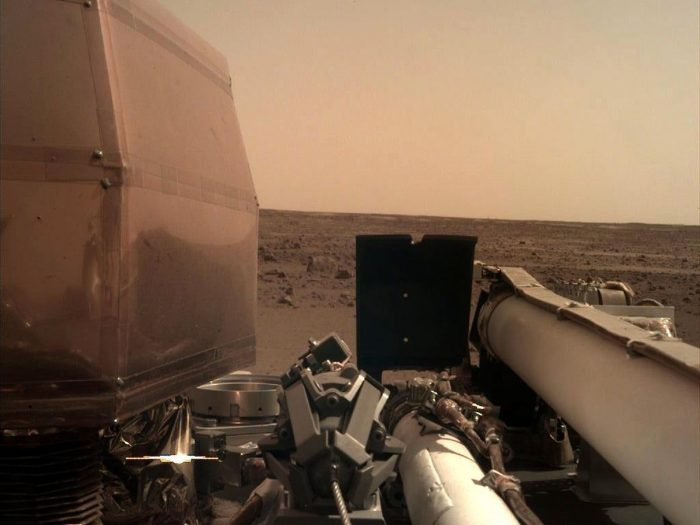 La sonde Insight se pose sur Mars