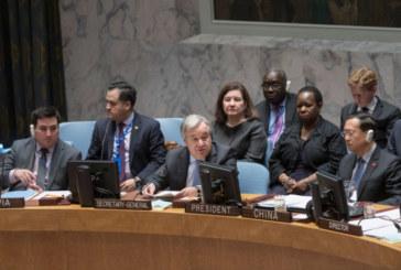 Selon Antonio Guterres, la paix en Afrique est une responsabilité collective