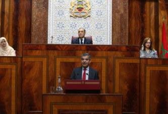 La Chambre des représentants entame l'examen en plénière de la première partie du PLF-2019
