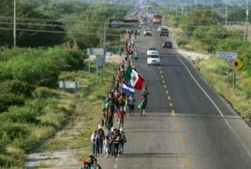Mexique: la caravane de migrants centre-américains continue sa route vers les Etats-Unis