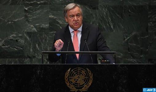 """Le SG de l'ONU """"a toujours été favorable à un dialogue renforcé"""" entre le Maroc et l'Algérie"""
