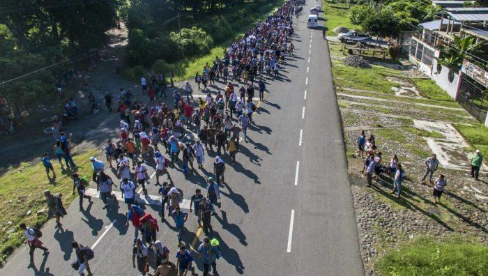 Des milliers de migrants centre-américains reprennent leur marche vers les Etats-Unis
