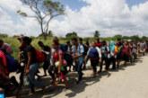 """Le Mexique face à des caravanes de milliers de migrants attirés par le """"rêve américain"""""""
