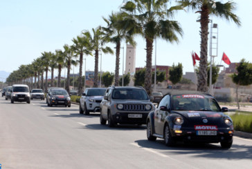 Fin dans la capitale de l'Oriental de la caravane du 6è rallye de la Marche verte Rabat-Oujda