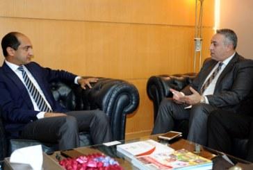 Entretiens entre le DG de l'AMCI et son homologue palestinien pour renforcer la coopération bilatérale