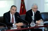 Passation des pouvoirs entre Nizar Baraka et Ahmed Reda Chami, nouveau président du CESE
