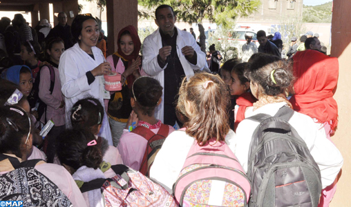 Caravane médicale au profit des populations nécessiteuses de Béni Mellal