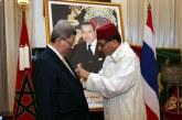Remise à Bangkok d'une décoration Royale à l'ex-ambassadeur de la Thaïlande au Maroc