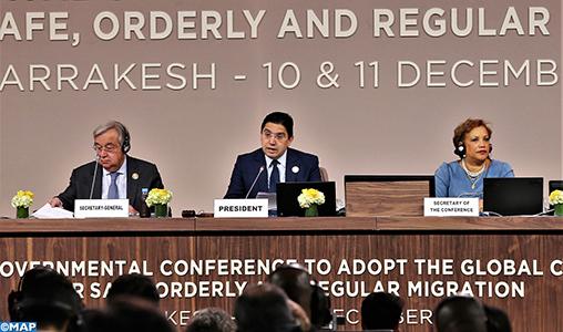 Pacte mondial sur les migrations, M. Bourita salue un acte de souveraineté