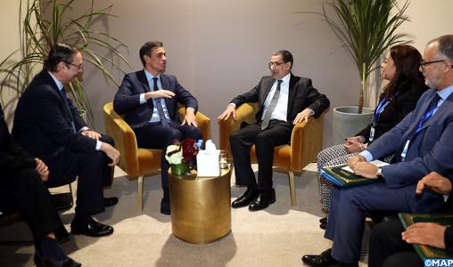El Otmani s'entretient à Marrakech avec le président du gouvernement espagnol