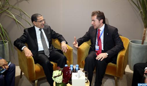 El Otmani s'entretient à Marrakech avec le ministre paraguayen des Affaires étrangères