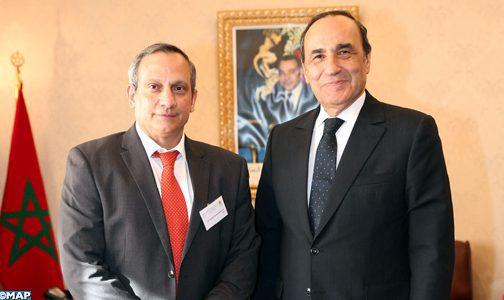 El Malki s'entretient avec un diplomate cubain autour des relations bilatérales maroco-cubaines