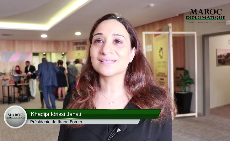 """[Interview vidéo] Khadija Idrissi: Ifrane forum est """"un forum d'action"""" et non """"de promesse"""""""