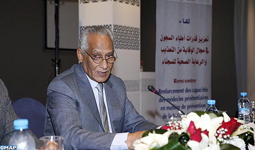 Tamek souligne l'adhésion de la DGAPR à tous les programmes de prévention de la torture