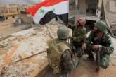 La Russie se félicite de l'entrée de l'armée syrienne dans un secteur du nord du pays