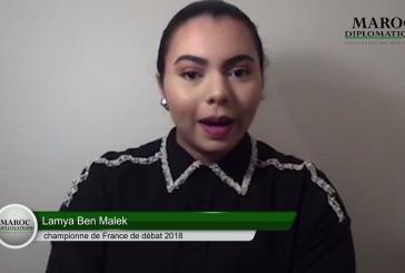 [Interview vidéo] Lamya Ben Malek, championne de France de Débat 2018