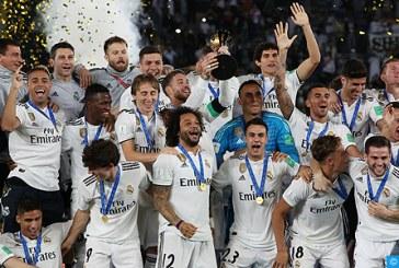Mondial des clubs: Le Real Madrid remporte la compétition pour la troisième fois d'affilée