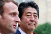 """Affaire Ghosn: Macron demande au premier ministre japonais """"la préservation"""" de l'alliance Renault-Nissan"""