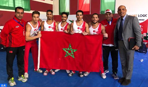 Championnat arabe de gymnastique: La sélection marocaine 1è (dames) et 2è (hommes)