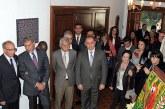 """Vernissage à l'ambassade du Maroc à Mexico de l'exposition """"Unis pour la paix"""""""