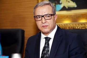 Aujjar souligne l'importance des mesures prises pour lutter contre la spoliation immobilière