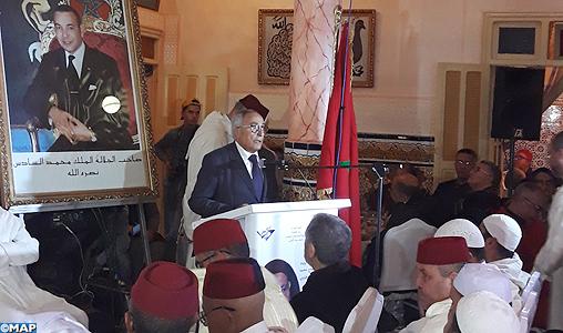 Commémoration à Bejaâd du 40ème jour du décès du résistant feu Mohamed Habib Naciri Cherkaoui
