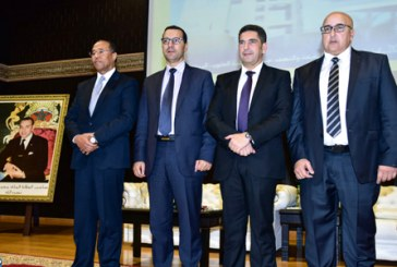 Installation de Mohamed Rhachi, nouveau président de l'université Mohammed V de Rabat
