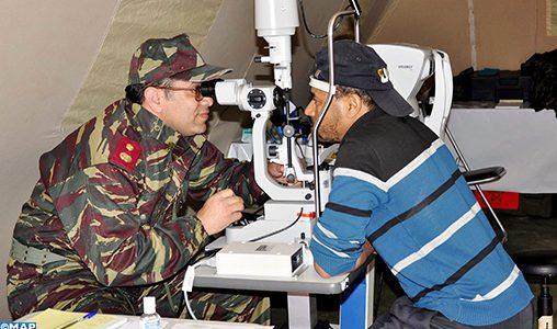 Hôpital militaire de campagne à Ouaouizeght: 165 opératioans chirurgicales en un mois