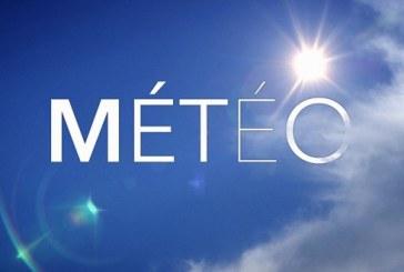 Prévisions météorologiques pour la journée du mardi 04 décembre 2018