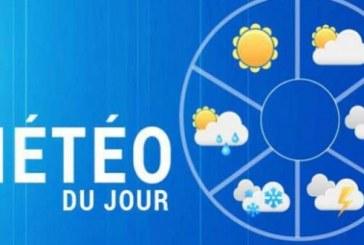 Prévisions météorologiques pour la journée du samedi 02 févier 2019