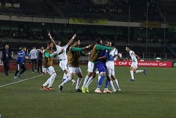 Le Raja de Casablanca sacré champion de la Coupe de la Confédération africaine de football