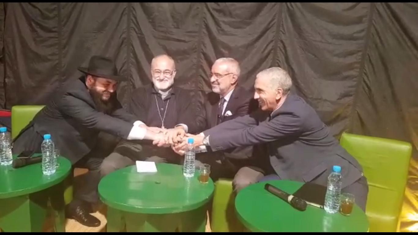 [Vidéo]Des représentants des trois religions monothéistes se rencontrent à Casablanca