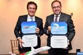 """Royal Air Maroc et Boeing célèbrent leur partenariat """"historique"""" à Seattle"""