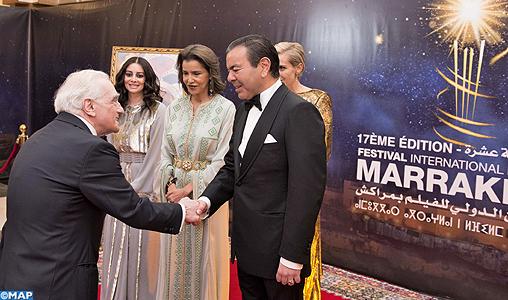 SAR le Prince Moulay Rachid préside le dîner d'ouverture de la 17è édition du Festival International du Film de Marrakech
