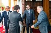 SM le Roi reçoit au Palais Royal de Rabat le SG des Nations Unies, Antonio Guterres