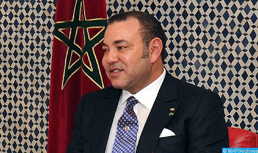 SM le Roi félicite Cyril Ramaphosa à l'occasion de son investiture président de l'Afrique du Sud