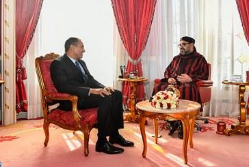 SM le Roi reçoit le président du Conseil Economique, Social et Environnemental (CESE)