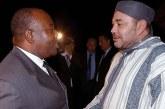 SM le Roi rend visite au Président gabonais, à l'Hôpital militaire de Rabat