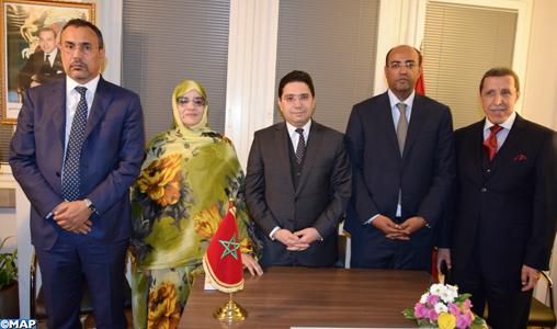 Table ronde de Genève: les élus des provinces du sud, porte-voix légitimes de la population sahraouie
