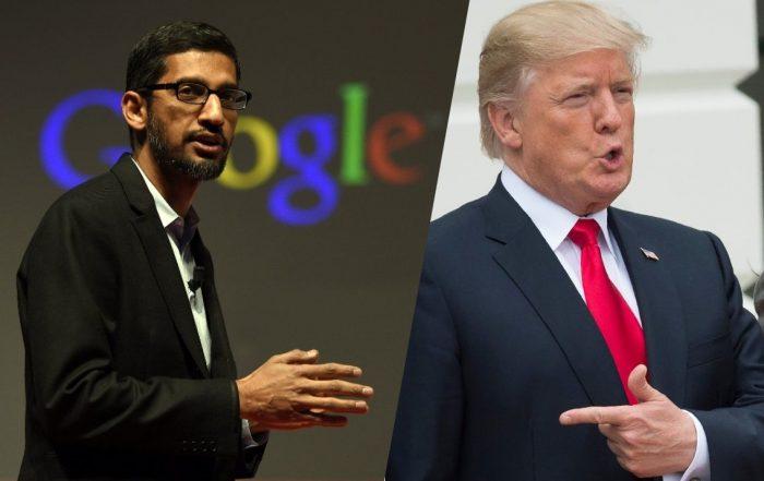 Le PDG de Google se défend des accusations de «partialité»